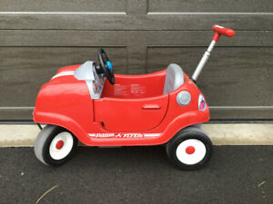 Radio Flyer Steer & Stroll Coupe Car