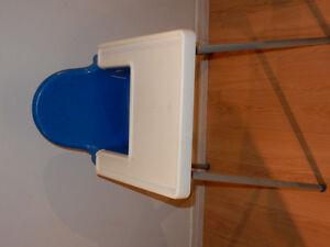 Highchair with tray