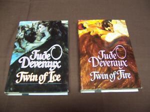 Twin of Fire and Twin of Ice by Jude Deveraux