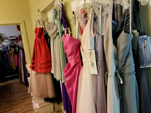 All these dresses are $99 in New Liskeard!