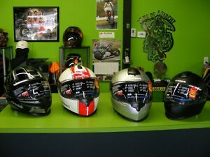 Schuberth S2 Helmets - 4 at Liquidation Pricing at RE-GEAR
