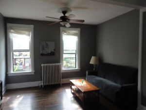 Sept-Apr: Bright Annex Apt. Upper 2 Stories of House, Furnished