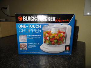 BLACK & DECKER ONE-TOUCH CHOPPER