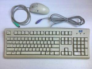 HP Standard PS/2 Wired Keyboard + Wheel Mouse