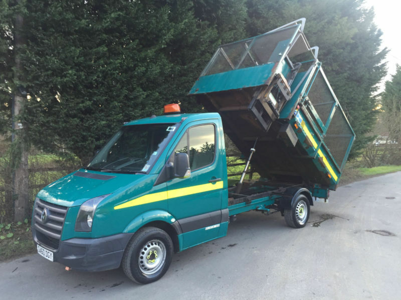 Repossession Part Ex 2010 Vw Crafter Cr 35 2 5 Blue