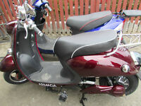Electric Scooter Burgundy Brand New