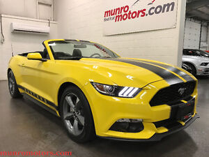 2016 Ford Mustang V6 Convertible Auto Camera Bluetooth USB Low K