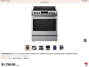 Get A Great Deal On A Stove Or Oven Range In Calgary