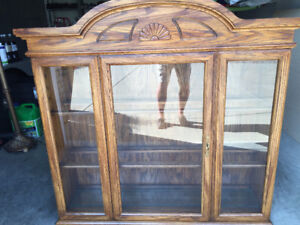 China cabinet hutch only