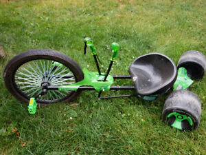 Huffy green machine tricycle.