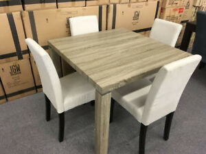 Condo Size Dining Table / 4 Chairs-Brand New-Taxes Included!!