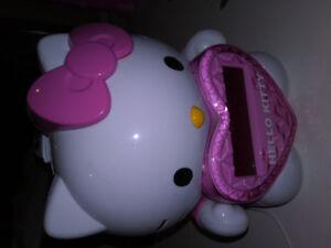 Radio réveil pour enfant, Hello Kitty, projecteur