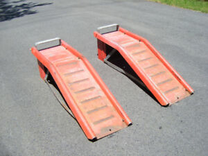 Car Ramps for Vehicle Maintenance