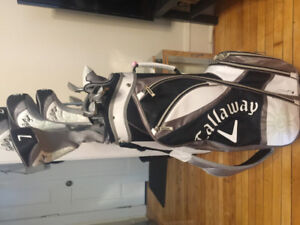 Righ-Handed Callaway Lady Solaire Gems 11 Piece Package Set