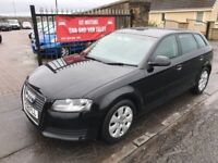 2009 (58) AUDI A3 1.9 TDI, 1 YEAR MOT, WARRANTY, NOT 1 SERIES GOLF C CLASS A4 ASTRA FOCUS