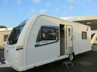 2019 COACHMAN VISION 545 4 BERTH CARAVAN WITH FIXED ISLAND BED..........STUNNING