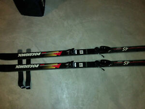 Rossignol Slalom Downhill Skis+Bindings+Straps