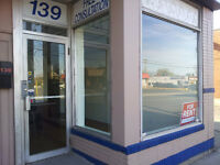 Renovated Store Front / Retail / Office space for rent.