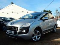2011 11 PEUGEOT 3008 2.0 HDI FAP EXCLUSIVE 5DR - RAC DEALER