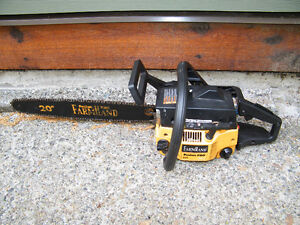 PROJECT SAW-POULAN PRO FARMHAND 295 CHAINSAW-ALMOST WORKS