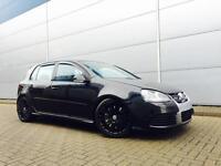 2006 56 Reg Volkswagen Golf R32 3.2 V6 4Motion 5dr Black + LEATHER + SAT NAV +