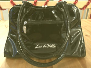 Sac a main style Goth Rockabilly Lux De ville Black Bow