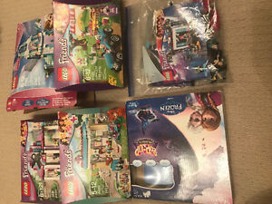 5 Lego Sets and 1 Disney Frozen Board Game