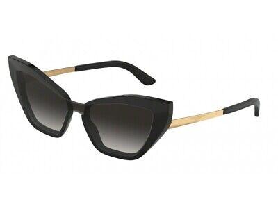 Sonnenbrille Dolce & Gabbana Authentic DG4357 501/8 G Black Grey Gradient