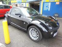 2005 05 SMART ROADSTER 0.7 80 RHD AUTO IN BLACK # LOW MILEAGE BEST COLOUR #