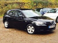 2007 Mazda Mazda3 1.6 TS 5 Door Black only 39,984 Miles Warranteed Low Mileage!!