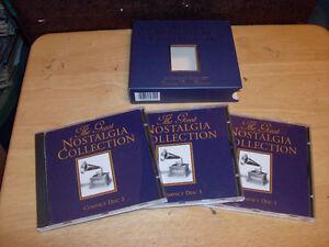 54 SONGS 3 COMPACT DISC SET NOSTALGIA COLLECTION