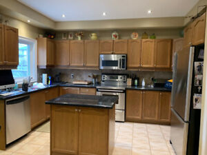 Beautiful oak kitchen with granite countertops for sale!