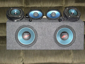 Kenwood car stereo system (complete) London Ontario image 10