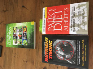 3 sports nutrition books
