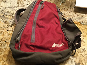 Mountain Equipment Coop red bag