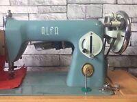 Sewing Machine ALFA Challenge Vintage Sewing