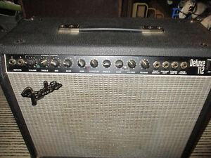 Vintage Fender Deluxe 112 Amplifier--Made in the USA--200 watts Kitchener / Waterloo Kitchener Area image 7