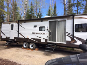2015 Wildwood Trailer & Whitespruce on the Lake Permanent Site