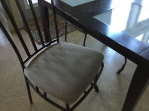 Table with 4 chairs $50