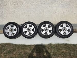 RIMS and TIRES!!!! 4 VW Jetta rims w/tires $250