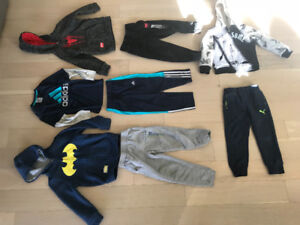 Size 5 - BOY - clothes & Pajamas - some new !