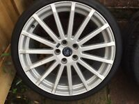 Ford Focus rs alloys genuine £400 ring for more info