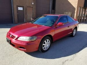 2002 Honda Accord SE Coupe **CERTIFIED**