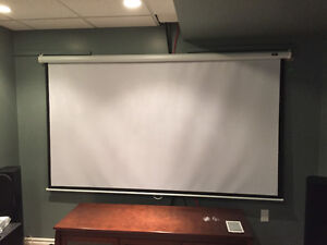 "100"" Projector screen"