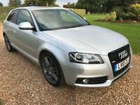 2010 10 AUDI A3 2.0 TDI S LINE SPECIAL EDITION 3D 138 BHP DIESEL