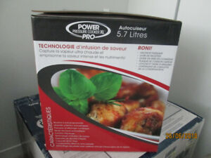 PRESTO électrique - Power Pressure Cooker XL Pro-Grand Format