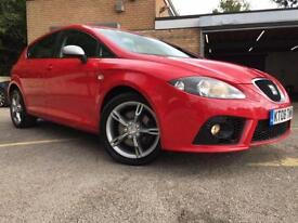 2008 08 SEAT LEON 2.0 FR TDI 5D 170BHP ONLY 59,000 MILES 2 FORMER KEEPERS DIESEL