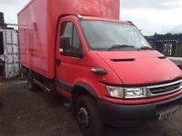 2006 iveco daily box truck