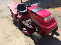 Countax ride on mower sit on mower