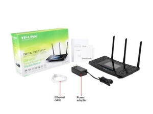 TP-Link AC1900 Wireless Wi-Fi Gigabit Router with Touch Screen